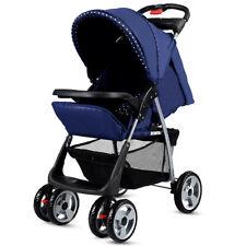 Foldable Baby Kids Travel Stroller Newborn Infant Buggy Pushchair Child Gray NEW
