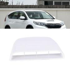Motorhaube Lufthutze Lufteinlass Auto Dach Luftstrom Ventildeckel Weiß Universal