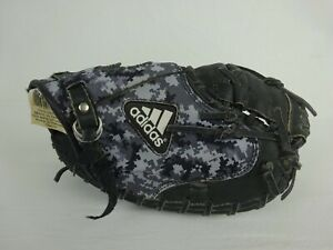 Adidas Triple Stripe Series Youth Catcher's Mitt ~ Black Camo ~