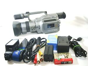 【GOOD+++】SONY DCR-VX1000 Camcorder   Set  From JAPAN