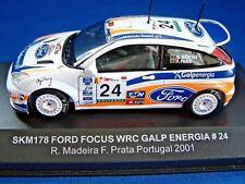 Skid by Vitesse SKM178 Ford Focus WRC Portugal 2001 Madeira / Prata