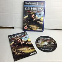 Call of Duty 2: The Big Red One - PAL - Sony Playstation 2 PS2 Game - EXC COND
