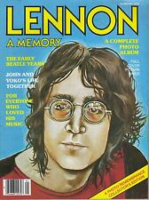 JOHN LENNON A MEMORY  A Complete Photo Album  THE BEATLES
