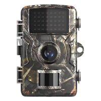 CaméRa de Chasse 12MP 1080P CaméRas de Chasse de Jeu avec Vision Nocturne éTa V5