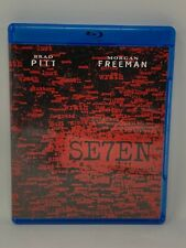 Seven (Se7en) (1995) Blu-Ray Buy 5 Get 1 Free! Pay $3 Shipping Once!