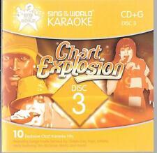 cd  karaoke VOL3 CD-G green day avril lavigne hanson delta goodrem athlete nelly