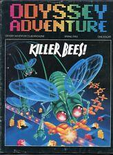 Original 1983 Odyssey Adventure Video Game Magazine Spring Issue #6 RARE