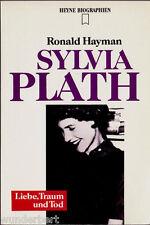 """Ronald Hayman - """" Biografía - Sylvia PLATH - Amor, Sueño y Tod """" (1992) - tb"""