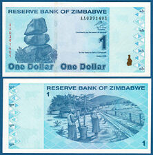 SIMBABWE / ZIMBABWE 1 Dollar  2009  UNC  P.92