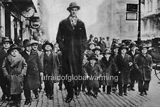 Photo. 1931-2. Circus Freak Giant & Little People