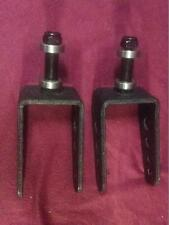 Pair of  Castor Forks for 7x1.75 Tires plus Bearings for Dalton Power Chair