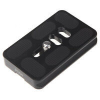 PU-60 Quick Release Plate for Benro B-1 KB-1 N-1 TB-0 Tripod Joby Arca Swis C2A4