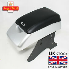 Silver Armrest Centre Console Black Fits Vw Passat Bora Golf 3 4 5 Caddy Sharan