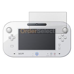 New Anti-Scratch Clear LCD Screen Guard Protector for Nintendo Wii U GamePad 6.2