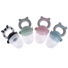 1Pc Teether silicone pacifier fruit feeder food nibbler feeder for baby# ZV RSS5