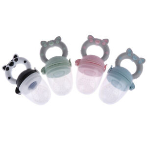 1Pc Teether silicone pacifier fruit feeder food nibbler feeder for baby BXBDAU