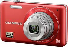 Olypmus VG-160 14MP Digital Camera With 5X Optical Zoom(Red)