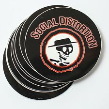 Wholesale Vinyl Stickers Official Social Distortion Punk Rock Band Logo