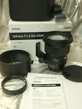 Sigma 105mm F1.4 ART DG HSM NEW PRIME WIDE Lens for NIKON CAMERA in FACTORY BOX