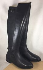 UGG DANAE BLACK LEATHER TALL RIDING BOOTS WOMENS US 5.5 UK 4 EU 36.5 1008683
