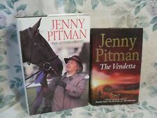 Joblot Bundle Hardback JENNY PITMAN Books THE VENDETTA & The Autobiography