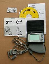 OLIVETTI XSMALL, anno 2000 circa – tastiera, cavi, manuale …   MN7