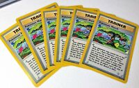 6x Pokemon March 102/111 Trainer Unlimited Neo Genesis Pokemon Card VG+/light