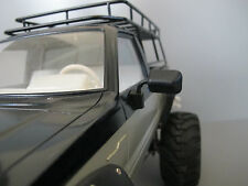Tamiya R/C 1/10 Toyota Hilux Bruiser Mountaineer Pair Black Rubber Side Mirror