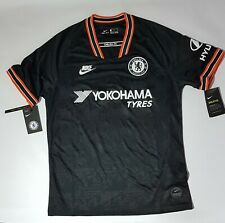 Nike Chelsea FC Men's Football Shirt Black  Size UK M Brand New