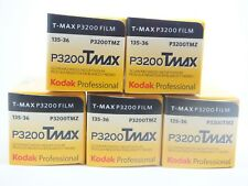 5 x KODAK TMAX P3200 35mm 36 Exp CHEAP B & W FILM By 1st CLASS ROYAL MAIL