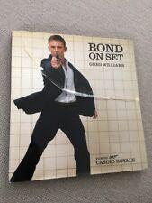 Greg Williams BOND ON SET FILMING CASINO ROYALE Hardback 007 1st ed 2006     Bon