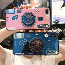 Retro Camera Shockproof Back Phone Case Cover For Samsung  Galaxy Acces