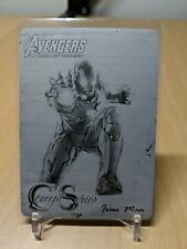 Upper Deck Avengers Age of Ultron - Black Printing Plate - Iron Man Concept