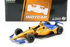 McLaren Indycar nº 66 Fernando Alonso 2019 Indy 500 Indianapolis Greenlight 1/18