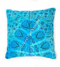 Indian Mandala Outdoor Cushion cover 24x24'' Pillow Square Pillow'cover 2pc