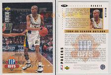 NBA UPPER DECK 1994 COLLECTOR'S CHOICE - Reggie Miller #176 Gold Signat. Ita/Eng