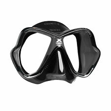 Mares X-Vision Ultra Liquidskin Scuba Diving Snorkeling Mask Black