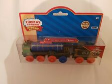 Thomas The Tank Engine & Friends WOODEN PATCHWORK HIRO TRAIN WOOD NEW IN BOX