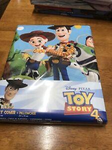 Toy story 4 Single Duvet Cover Pillowcase (Disney Pixar)
