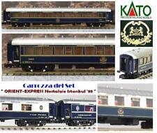KATO-09 CIWL ORIENT EXPRESS Nostalgie-Istanbul CAMAS ESPAÑA TARGHE 3542A SCALA-N
