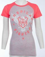 American Fighter AFFLICTION Womens T-Shirt ATHENS Athletic Biker Sinful $40