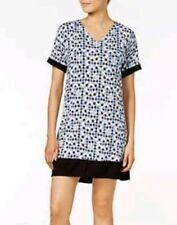 DKNY Contrast Trimmed Printed Sleepshirt Size Small - $59 - NWT