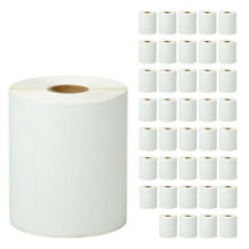 40roll 4x3 Direct Thermal 500 Label For Zebra Lp2844 Lp2424 Tlp2844 Lp2442 Zp450