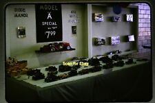 Ford Model A Car Toy Display at Louisville, KY in 1964, Original Slide aa 8-5a