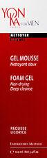 Yonka For Men Foam Gel Deep Cleanse 100ml(3.4oz)  BRAND NEW