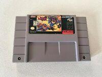 SWAT Kats SNES (Super Nintendo Entertainment System, 1995) AUTHENTIC! Tested