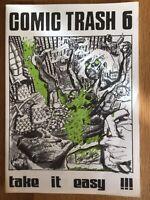 COMIC TRASH NR. 6 1990 INDEPENDENT ART PUNK 80ER JAHRE COMICS FANZINE