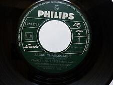 FRANCE GALL Sacre Charlemagne / Au clair de la lune B373471F JUKE BOX