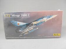 Heller Mirage 2000C Plastic Airplane Model Kit 1:72 Scale