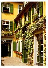 Bonn Germany Postcard Ludwig Van Beethoven House Shutters Unposted